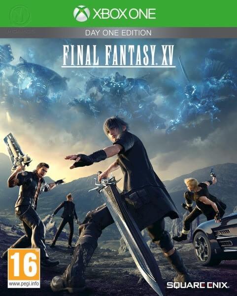 Final Fantasy XV Day One Edition | Final Fantasy 15 б/у XONE