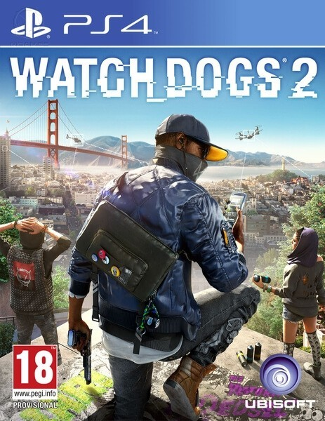 Watch Dogs 2 б/в PS4