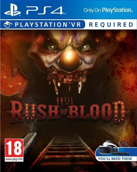 Until Dawn: Rush Of Blood б/у (только для VR) PS4