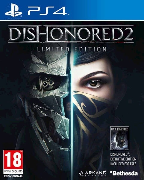 Dishonored 2. Limited Edition б/в PS4