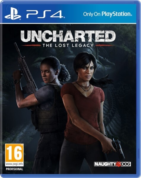 Uncharted Загублена спадщина | Uncharted The Lost Legacy б/в PS4