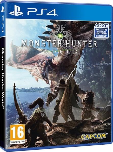 Monster Hunter: World б/у PS4