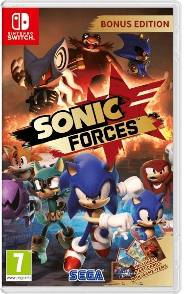Sonic Forces б/в switch