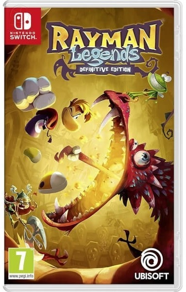 Rayman Legends Definitive Edition б/в SWITCH