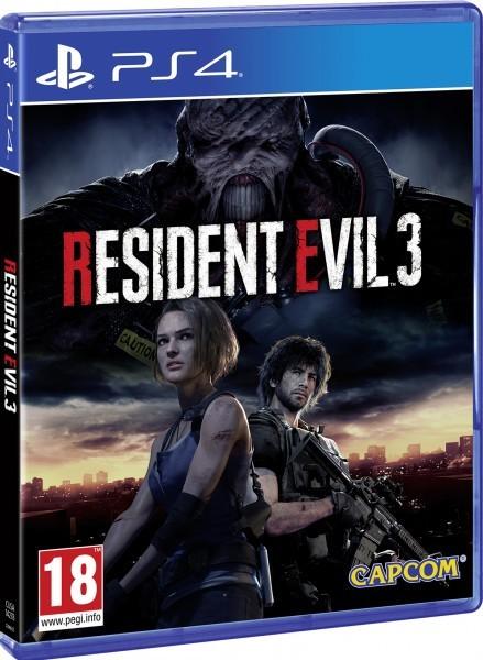 RESIDENT EVIL 3 | RE3 б/в PS4