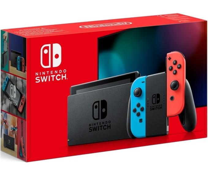 Ігрова консоль Nintendo Switch б/у як нова (неоновий синій/неоновий червоний) HAC-001 (-01) (Нова ревізія) SWITCH