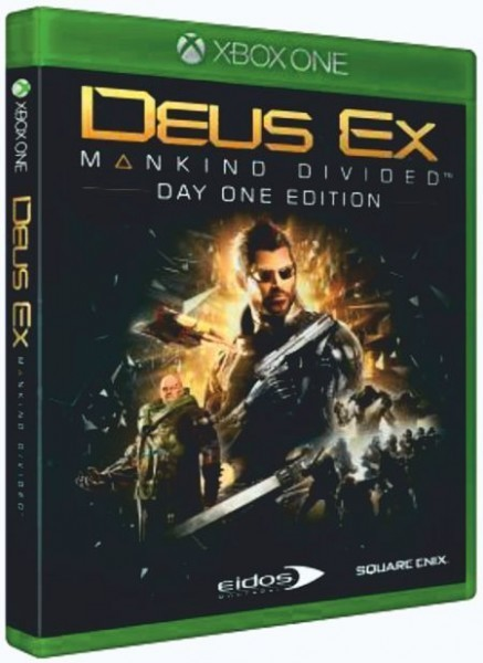 Deus Ex Mankind Divided Day One Edition б/в XONE