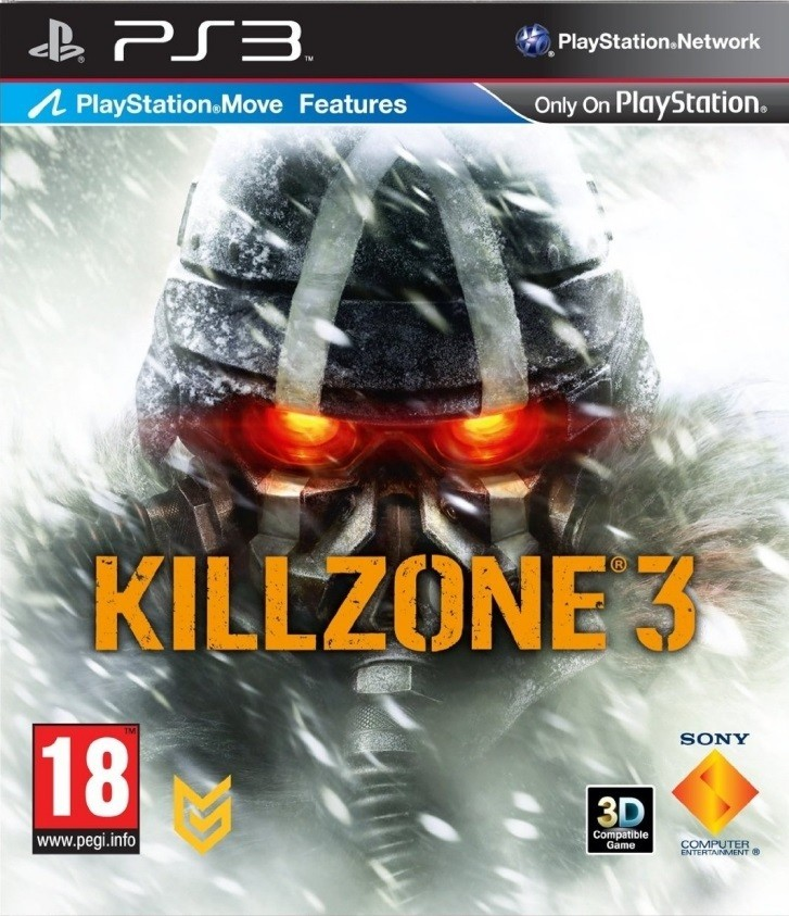 Killzone 3 б/в PS3