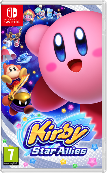 Kirby Star Allies б/в switch