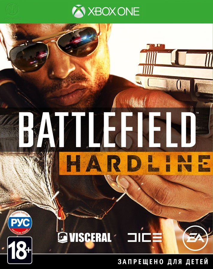 Battlefield Hardline б/у XONE