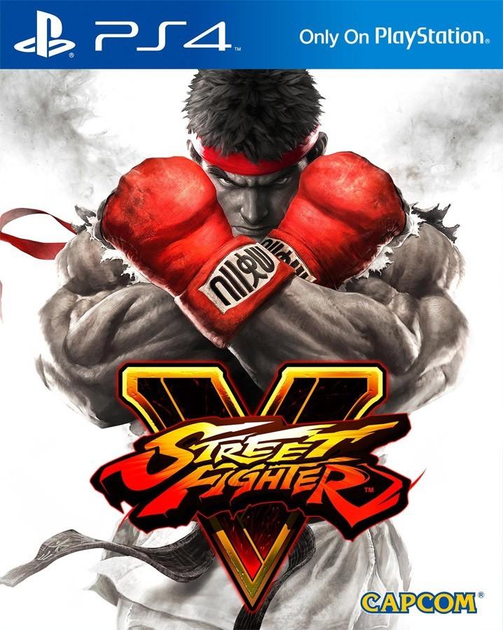 Street Fighter V б/у PS4