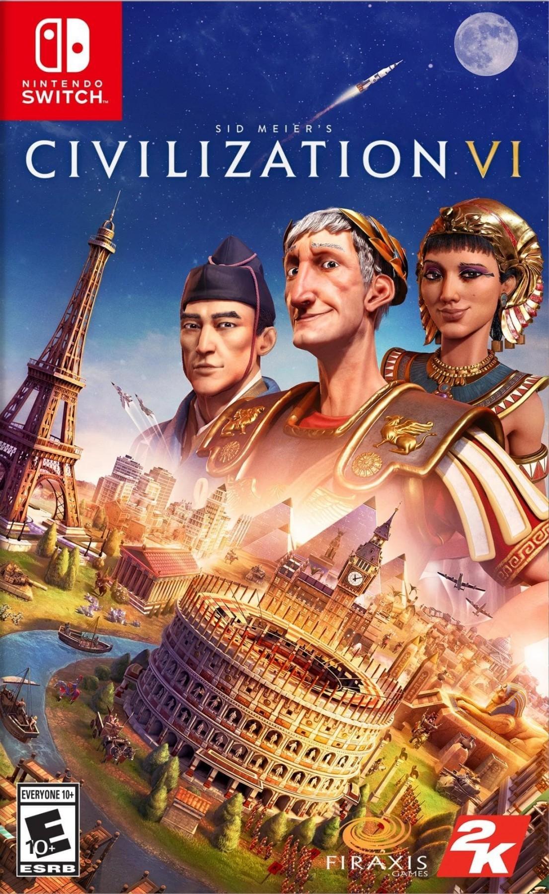 Sid Meier's Civilization VI б/в switch