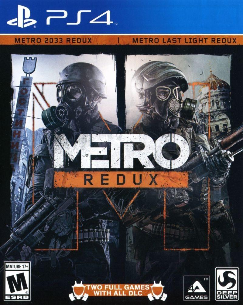 Метро 2033. Повернення | Metro Redux PS4