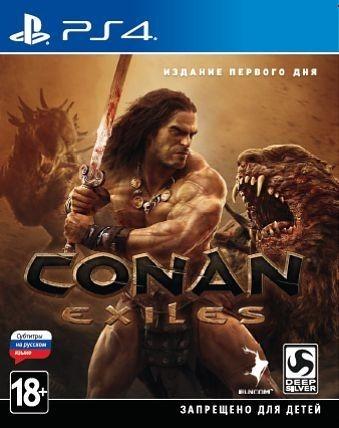 Conan Exiles. Издание первого дня б/у PS4