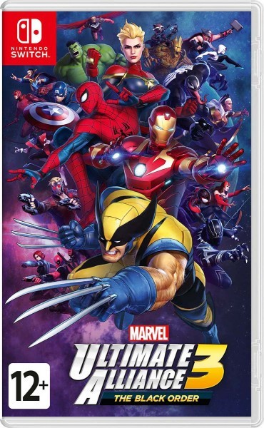 MARVEL ULTIMATE ALLIANCE 3: The Black Order б/у switch