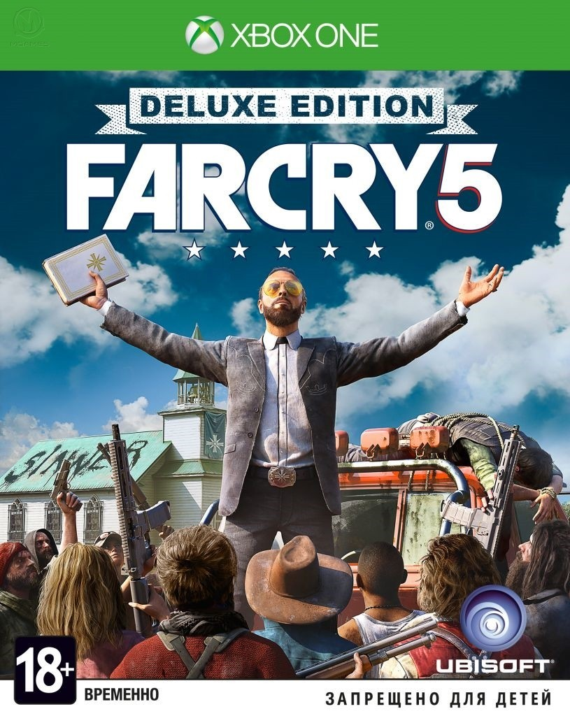 Far Cry 5 Deluxe Edition б/у XONE