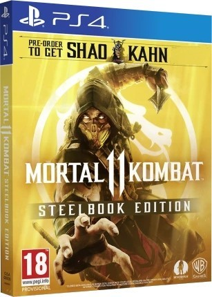 Mortal Kombat 11 Steelbook Edition б/в PS4
