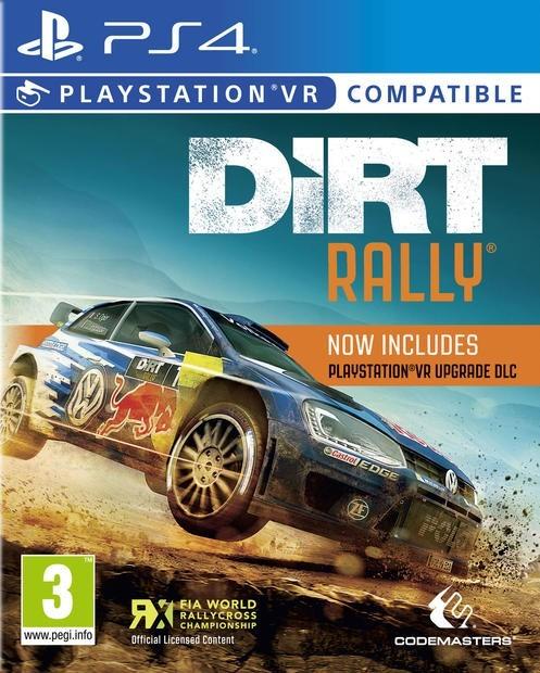 Dirt Rally VR б/в PS4