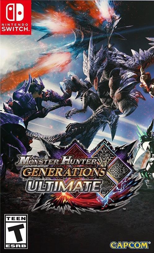 Monster Hunter Generations Ultimate б/в SWITCH