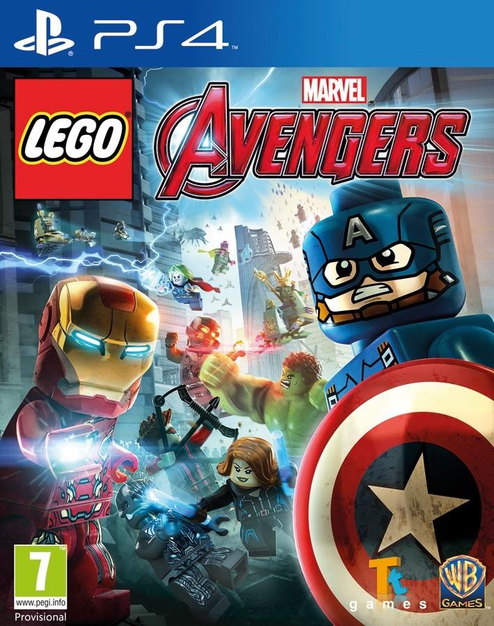 LEGO Marvel's Avengers | LEGO Marvel Мстители б/у PS4