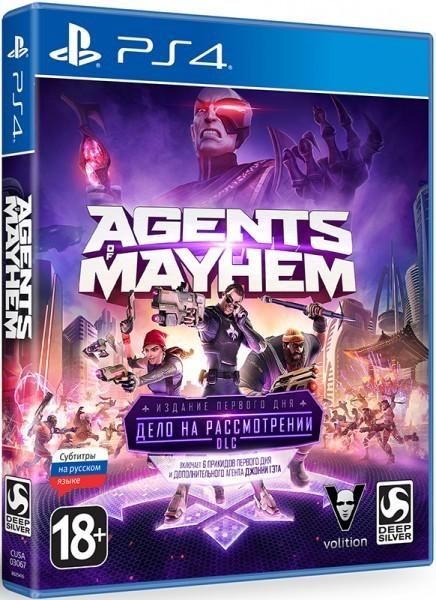 Agents of Mayhem Издание первого дня | Agents of Mayhem Day One Edition б/у PS4