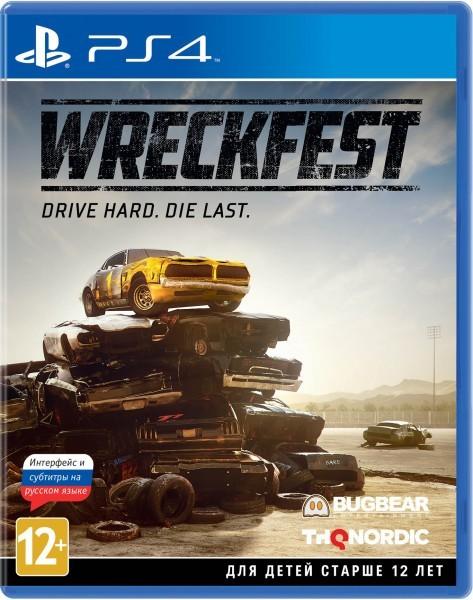 Wreckfest б/у PS4