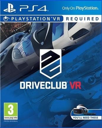 Driveclub VR (тільки для VR) б/в PS4