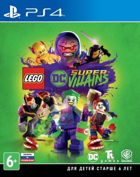 LEGO DC Super-Villains | LEGO Суперзлодеи DC б/у PS4