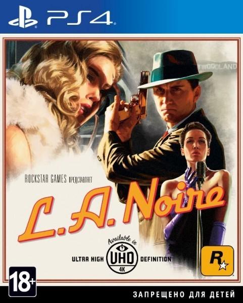 L.A. Noire б/у PS4