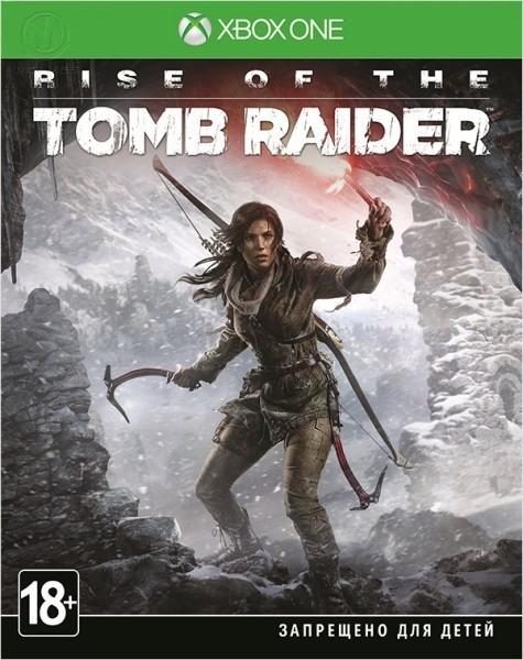 Rise of the Tomb Raider б/у XONE