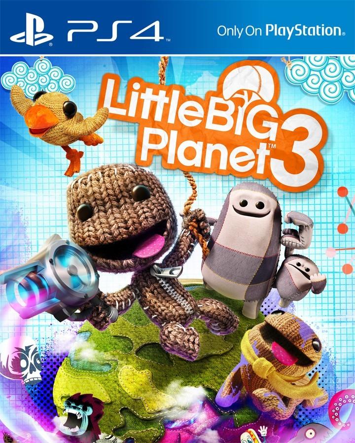 LittleBigPlanet 3 (рус) б/у PS4