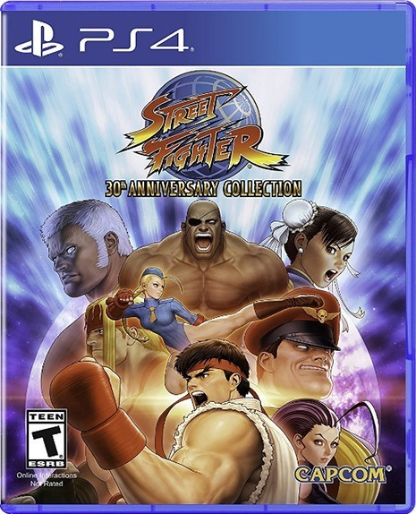 STREET FIGHTER 30TH ANNIVERSARY COLLECTION б/в PS4