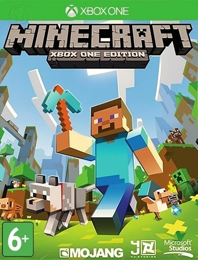 Minecraft б/в XONE