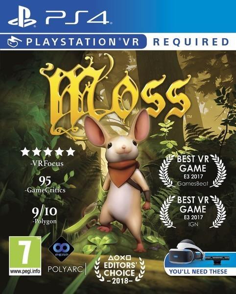 Moss VR б/в PS4