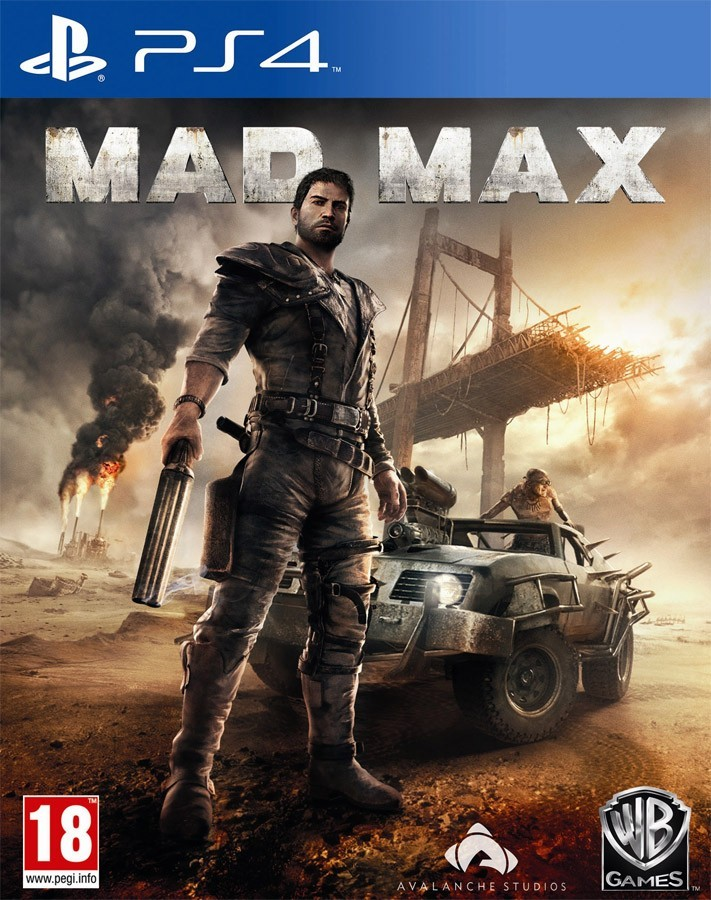 Mad Max б/у PS4