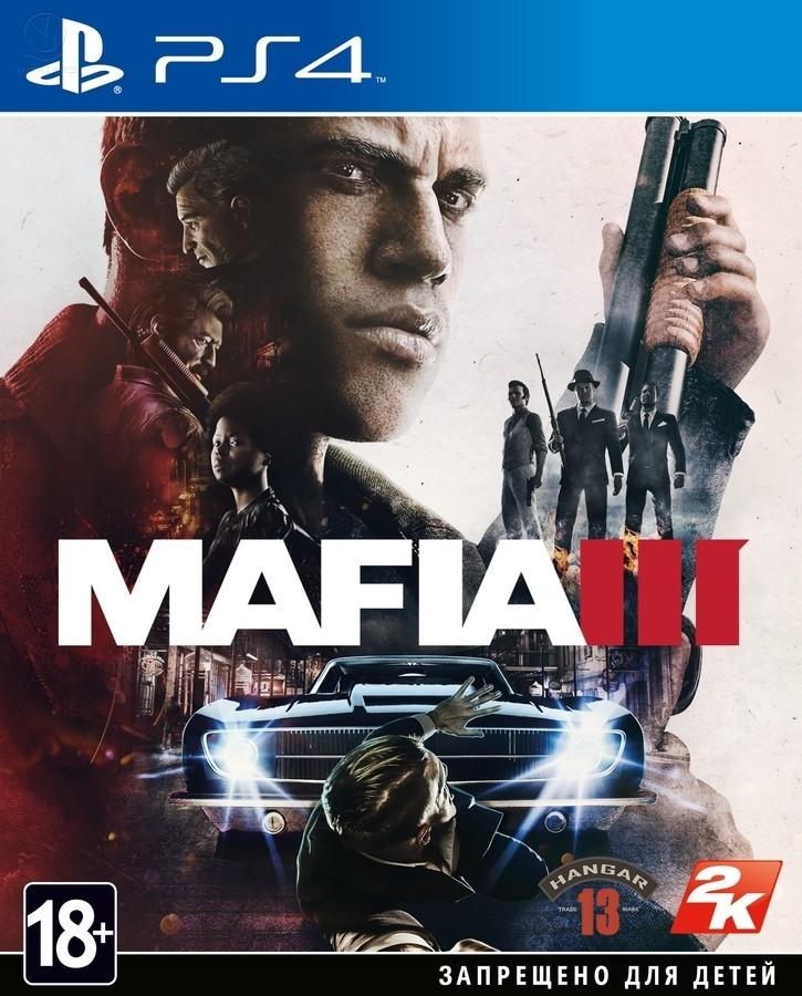 Mafia 3 б/у PS4