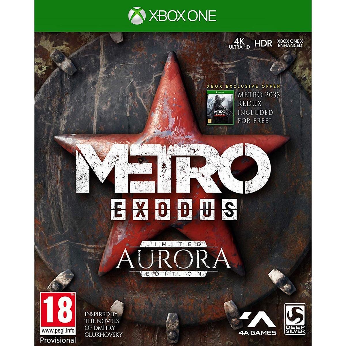 Metro Exodus Aurora Edition | Метро Исход б/у XONE