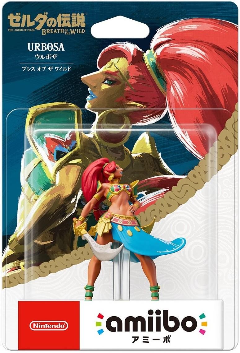 The Legend of Zelda Breath of the Wild: Інтерактивна фігурка amiibo – Urbosa