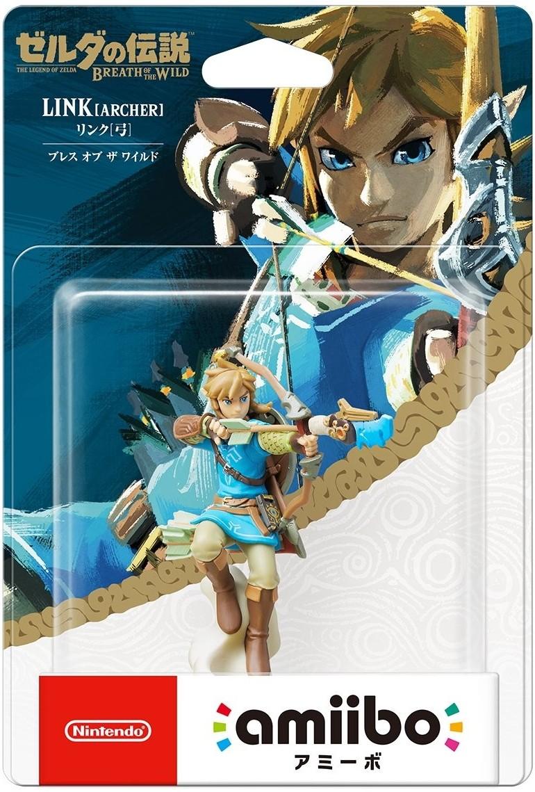 The Legend of Zelda Breath of the Wild: Інтерактивна фігурка amiibo – Link [ARCHER]