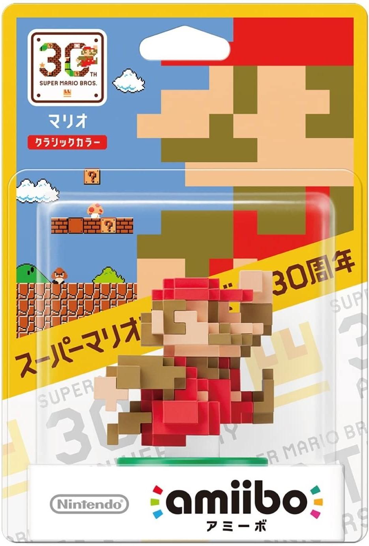 Super Mario Bros. 30th Anniversary: Интерактивная фигурка amiibo - Mario Classic Color