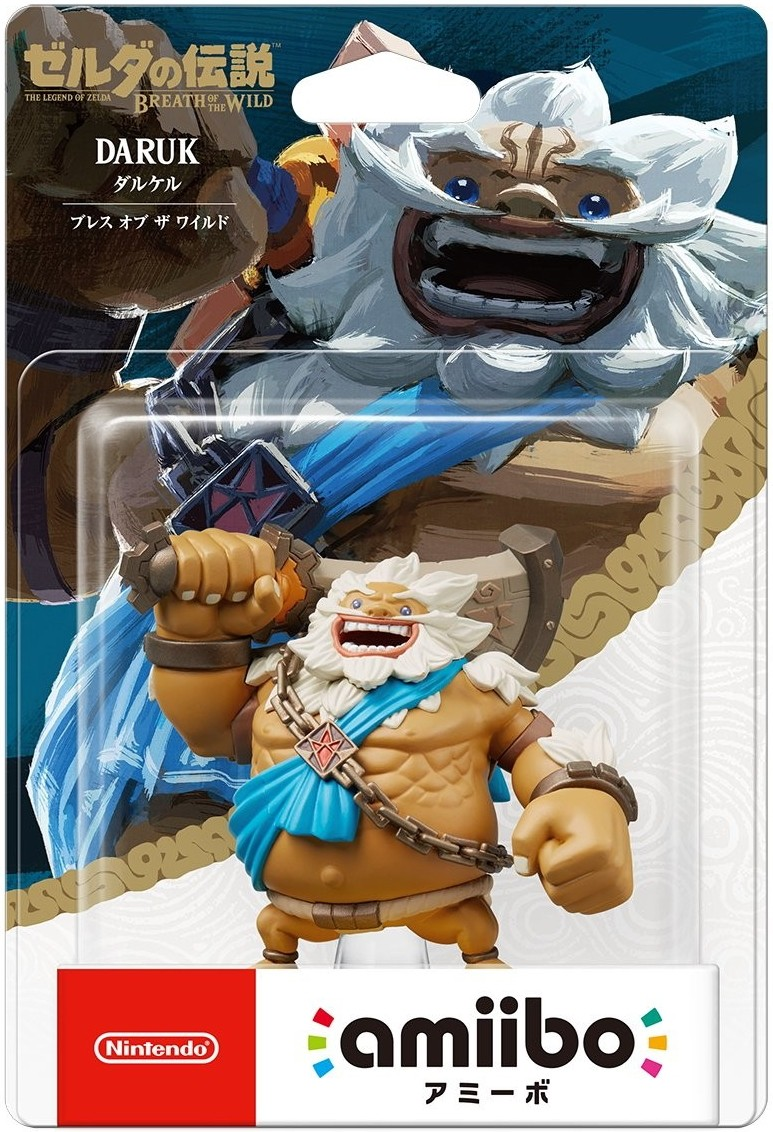 The Legend of Zelda Breath of the Wild: Інтерактивна фігурка amiibo – Daruk