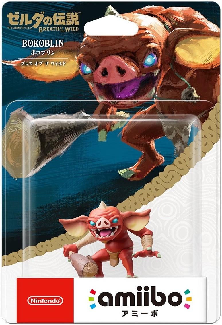 The Legend of Zelda Breath of the Wild: Интерактивная фигурка amiibo – Bokoblin