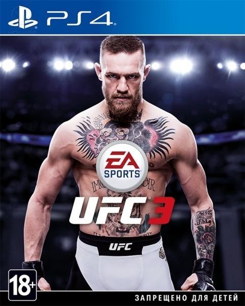 EA Sports UFC 3 б/у PS4