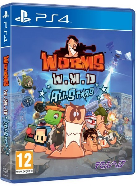 Worms W.M.D. б/у PS4