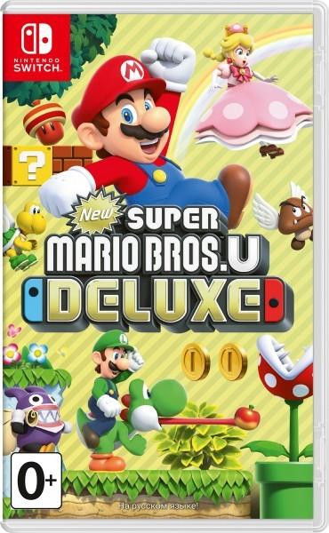 New Super Mario Bros. U Deluxe б/в switch