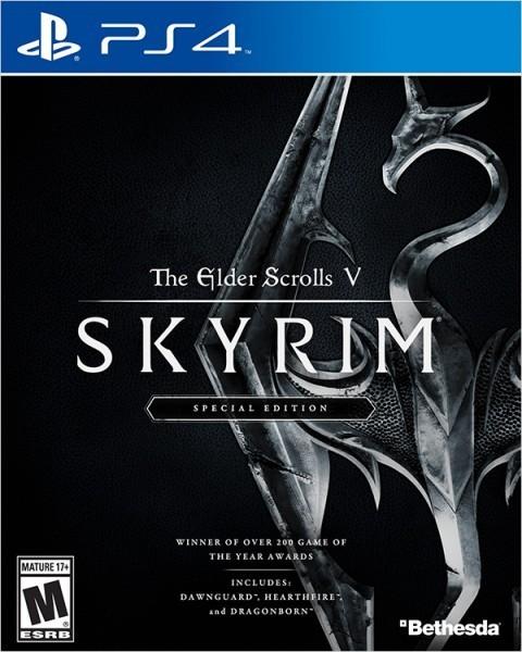 The Elder Scrolls V: Skyrim. Special Edition б/в PS4