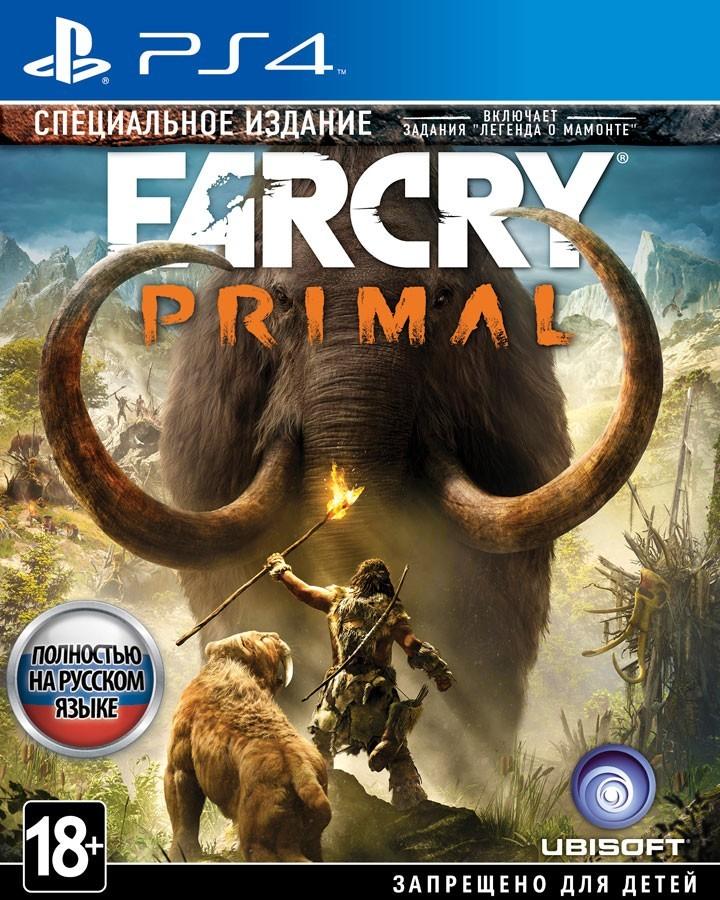 Far Cry Primal. Спеціальне видання рос. б/в PS4