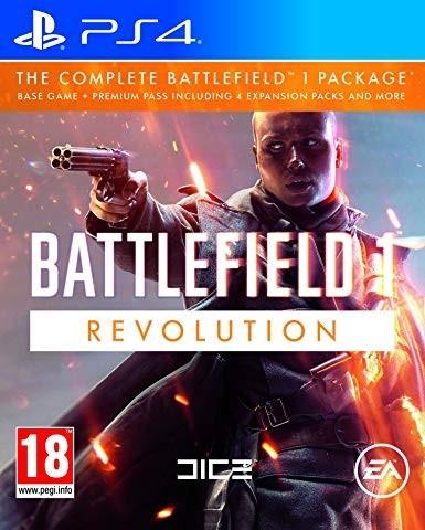 Battlefield 1. Революцiя б/в PS4