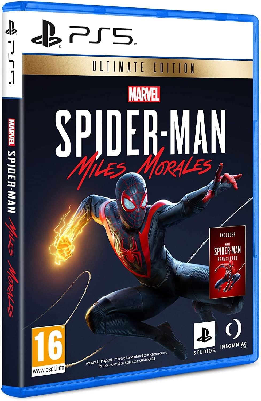 Marvel's Spider-Man Miles Morales Ultimate Edition | Marvel's Людина-павук Майлз Моралес б/в PS5
