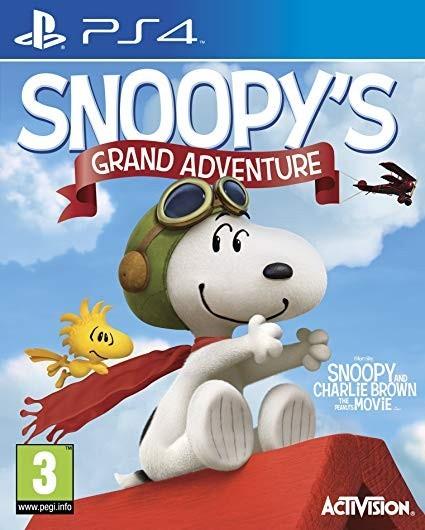 The Peanuts Movie: Snoopy's Grand Adventure б/в PS4